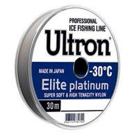 Леска ULTRON ELITE PLATINUM 30 м (0,18 мм) 4 кг