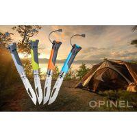 Нож туристический Opinel №8 VRI OUTDOOR Earth-green (нержавеющая сталь)