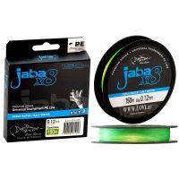 Плетеная леска JABA X8 150 (0,14) зеленый флю