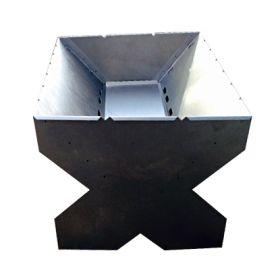 Мангал V-образный 500х400х350 (сталь1,0)